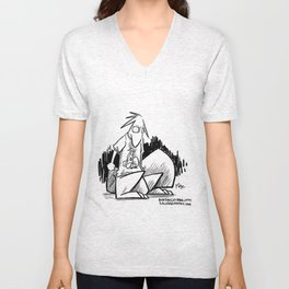 squirrel shirt Unisex V-Neck