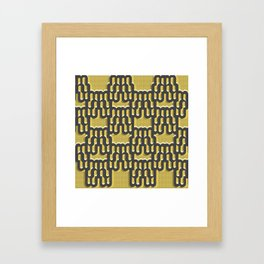 When I think of reupholstering, I think of happiness  #2 Framed Art Print