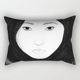 High Contrast Rectangular Pillow