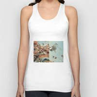 italy Tank Tops featuring Little Italy by Paul Prinzip