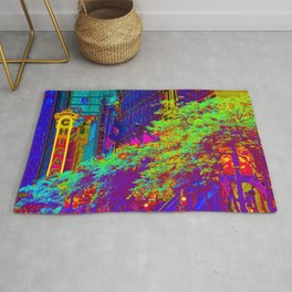 Chicago Theater Rainbow Rug