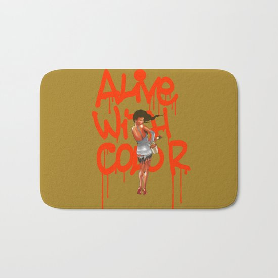 Alive with Color Bath Mat