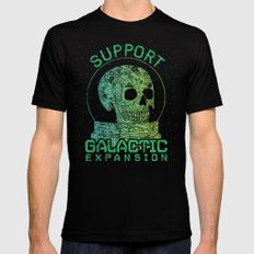 Support Galactic Expansion Black Mens Fitted Tee SMALL