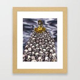 Queen of Head  Framed Art Print