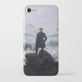 Caspar David Friedrich - Wanderer above the sea of fog iPhone Case