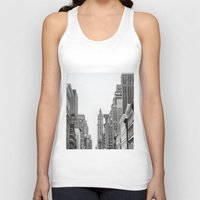 broadway Tank Tops featuring Broadway - NY by Basma Gallery