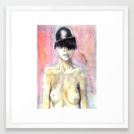 nude II Framed Art Print