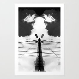 Light to the Sky Art Print