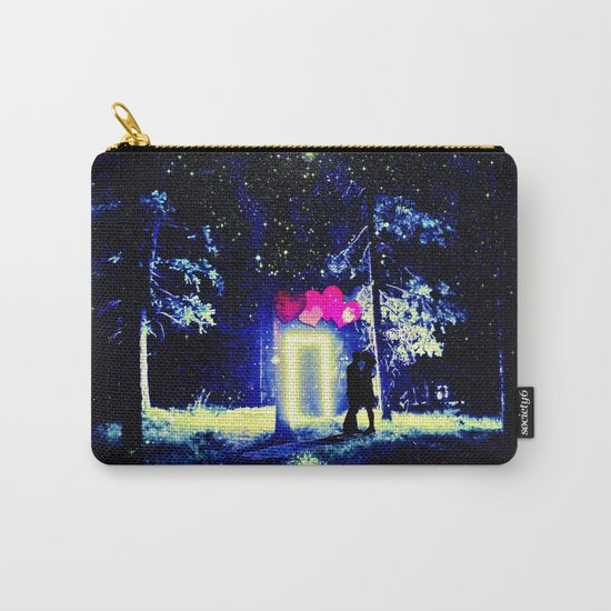 Love in the Dark Carry-All Pouch