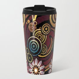 Colors and volutes Jacob's fashion Paris Travel Mug