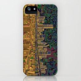 houston city skyline iPhone Case