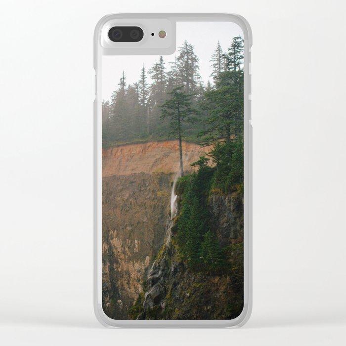 Windblown Waterfall // Oregon Clear iPhone Case