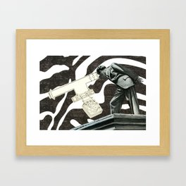 Looking For The Source Framed Art Print