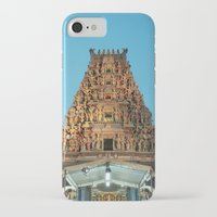 hindu iPhone & iPod Cases featuring HINDU TEMPLE by JChrst