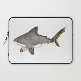 Tribal Shark Laptop Sleeve