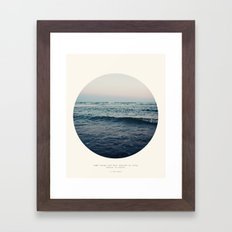 In Storm Framed Art Print