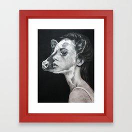 We Are The Same Framed Art Print