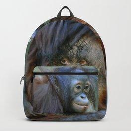 Mother and Baby Orangutan Backpack