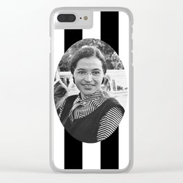 rosa parks Clear iPhone Case