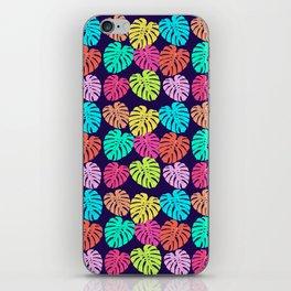 Monstera Deliciosa Print iPhone Skin