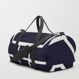 Black and white collage abstract A Duffle Bag