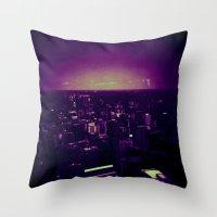 toronto Throw Pillows featuring Toronto! by Sami Kelsh