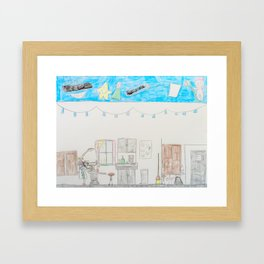 Kelly Bruneau #10 Framed Art Print