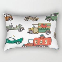 old cars Rectangular Pillow