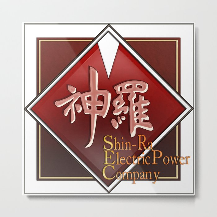 Shin-Ra Electric Metal Print