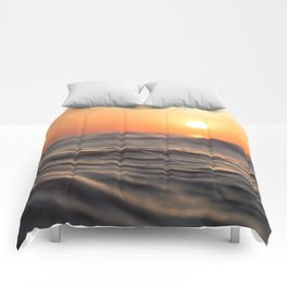 Sunset Wave Comforters