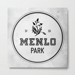 Menlo Park Metal Print