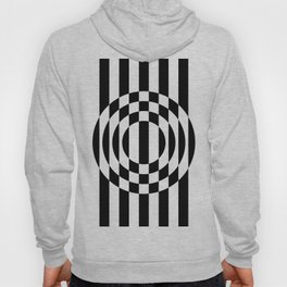 Hot Spot || Black & White Hoody