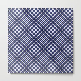 Marchess (Navy Blue) Metal Print