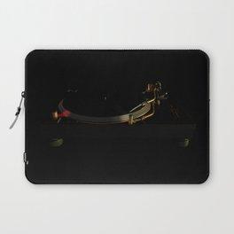 Turntable in the dark Laptop Sleeve