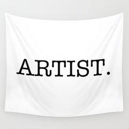 Artist Wall Tapestry