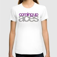 asexual T-shirts featuring coming up aces by Brizy Eckert