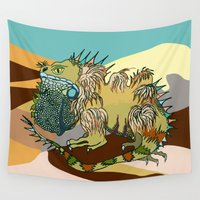 dune Wall Tapestries featuring Dune by Maria Paula Quiva
