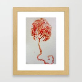 Tree of Life: The Placenta Framed Art Print