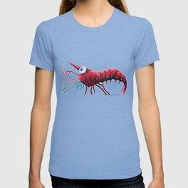 Angelina the Cardinal Shrimp T-shirt