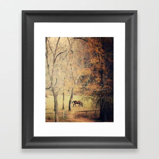Thicket Framed Art Print