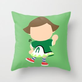 Villager♀#2(Smash) Throw Pillow