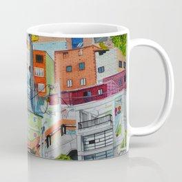 Casas de colores. Medellín Coffee Mug