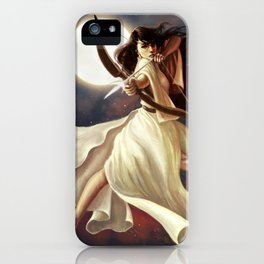 Goddess of the Moon iPhone Case