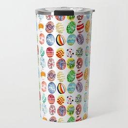 Easter eggs mosaic Travel Mug