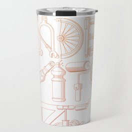 Hand Made With Love Travel Mug