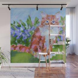 Tiger Lily Wall Mural