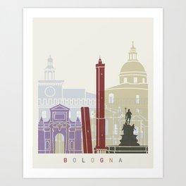 Bologna skyline poster Art Print