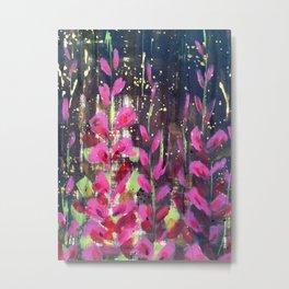 Winter Florals Metal Print