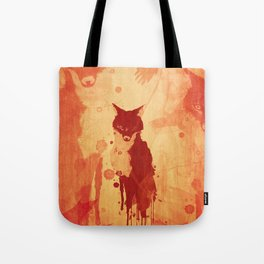 Glimpse Of A Fox In The Forest Tote Bag