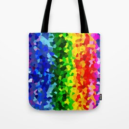 Rainbow Moon Love Tote Bag